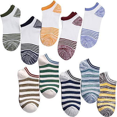 メンズくるぶし メンズ スニーカーソックス ショート ソックス 靴下 カジュアル 24~27cm 10足組 DE04-05
