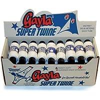 Gayla IndustriesスーパーTwine Kite文字列マルチパック200フィート/クラスセット