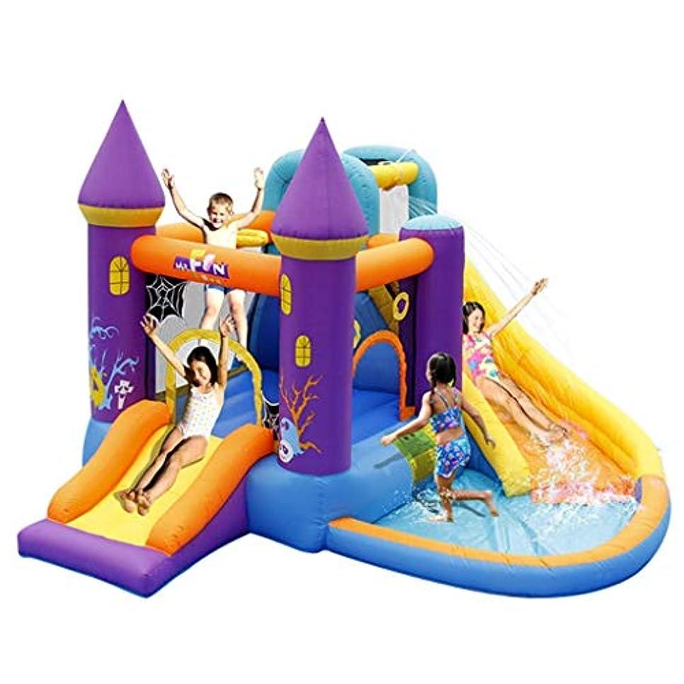 地質学スキニーほんの赤ちゃんのおもちゃ弾力がある城子供のインフレータブル城幼稚園の子供たちのスライド子供のおもちゃ屋外の大規模な遊園地インフレータブル城の子供たちのトランポリン