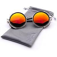 Newest Men Women Fashion Sunglasses Steam Punk Vintage Sunglasses Eyewear