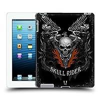 Head Case Designs メタル・リアルム スカル・バイカーズ ハードバックケース Apple iPad 3 / iPad 4