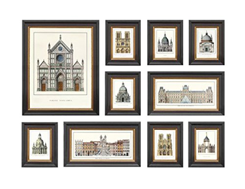 [해외]JIG 아트 프레임 ND 개념 프레임 10 장 세트 IND-60755/JIG Art Frame ND Concept Frame 10 pieces set IND-60755