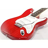 Fender Japan/Stratocaster ST62/ASH/MH Translucent Red (TRR) フェンダージャパン