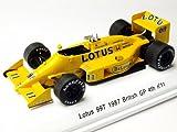 レーヴコレクション ロータス 99T 1987年イギリスGP 4位 #11 ドライバー:中嶋悟