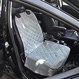 Amzdeal 人用車シートカバー ペットガード ペット用ドライブ 汚れを防ぐ 防水撥水 助手席用 折りたたみ可能