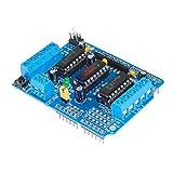 L293D L293 モーターシールドステッピングドライバボード制御モジュールモータドライブ拡張ボード Arduino のための Mega2560 4 チャンネル H ブリッジ