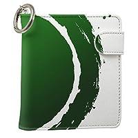 スマコレ iQOS アイコス レザーケース 従来型/新型 2.4PLUS タバコ 専用 ケース カバー 合皮 カバー 収納 iCOS iKOS iqos005nb ユニーク インク ペンキ 緑 グリーン 008411