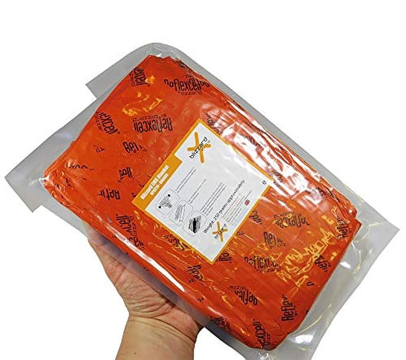 障害弾丸いらいらするBlizzard EMS ブランケット 2層 オレンジ フラットパック