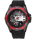 [シチズン キューアンドキュー]CITIZEN Q&Q 腕時計 ウォッチ アトラクティブ 5気圧防水 ラバーベルト ブラック メンズ [並行輸入品]