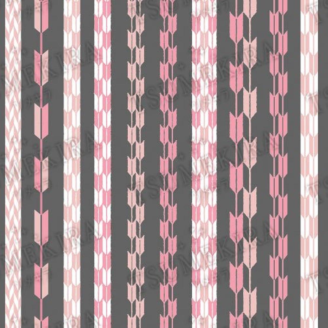 エレクトロニックポンプはいツメキラ ネイル用シール スタンダードスタイル 矢餅 ピンク