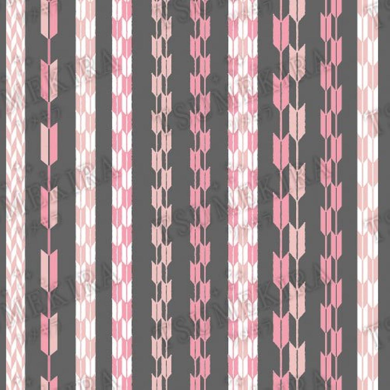叫ぶ餌折り目ツメキラ ネイル用シール スタンダードスタイル 矢餅 ピンク