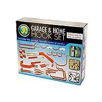Assortedガレージ&ホームフックセット–4のパック