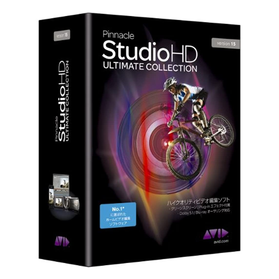 オープナーイブ兄弟愛Pinnacle Studio 15 HD Ultimate Collection