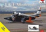 Aモデル 1/144 アメリカ グラマンUF-1アルバトロス救難飛行艇 プラモデル AM1424