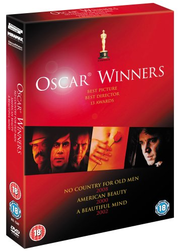No Country For Old Men, American Beauty, A Beautiful Mind [Import anglais]