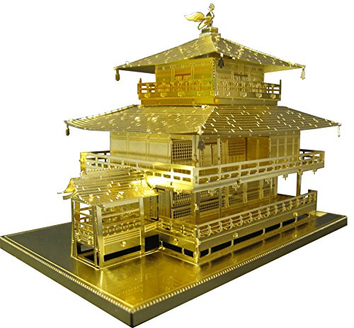 メタリックナノパズル ゴールドシリーズ 金閣寺