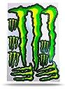 モンスターエナジー MONSTER ENERGY ステッカー セット Sticker Set グリーン Green TS-8a