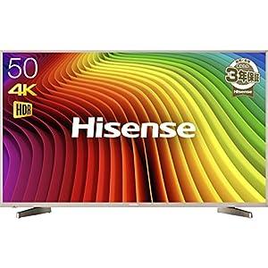 ハイセンス 50V型 4K対応 液晶 テレビ HJ50N5000 HDR対応 外付けHDD 録画 裏番組録画 メーカー3年保証