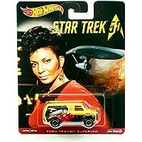 FORD TRANSIT SUPERVAN * Star Trek / Lieutenant Uhura * Hot Wheels 2015 Pop Culture Star Trek 50th Anniversary Series Die-Cast Vehicle by Pop Culture