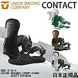 16-17 UNION BINDING CONTACT ユニオン ビンディング コンタクト バインディング スノーボード 日本正規品