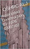 Associated Construction; 01-1076  03/07/02 (English Edition)