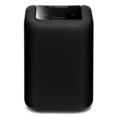 ヤマハ ワイヤレスストリーミングスピーカー/Bluetooth®送受信/AirPlay/radiko.jp/MusicCast®対応、Wi-Fi内蔵ワイヤレススピーカー ブラック WX-010(B)