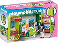 Playmobil (プレイモービル) Flower Shop Play Box Building Kit (並行輸入品)
