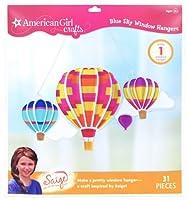 American Girl Crafts Blue Sky Window Hanger Kit 2013 Girl of The Year Saige [並行輸入品]