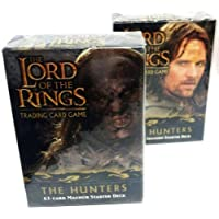 Lord of the Rings Card Game 63 Card Starter Deck - The Hunters by Decipher [並行輸入品]
