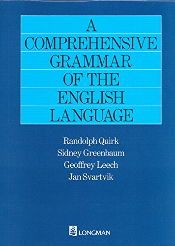 A Comprehensive Grammar of the English Languageの詳細を見る