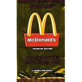 マクドナルド プレミアエディション コレクターカード 5枚入パック 3パックセット【アートカード】