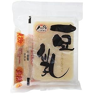 秋山食品 豆乳こんにゃく 黄粉付き 200g