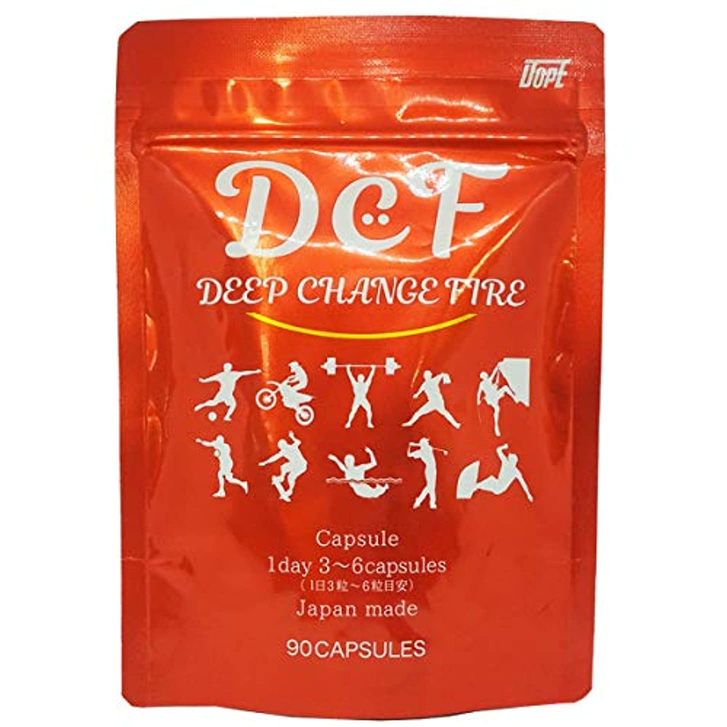 クーポンかわす休日DCF(ディープチェンジファイア) 約30日分/90粒 ★カプサイシン燃焼ダイエット★