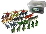 恐竜フィギュア 36体セット お片付けBOXつき