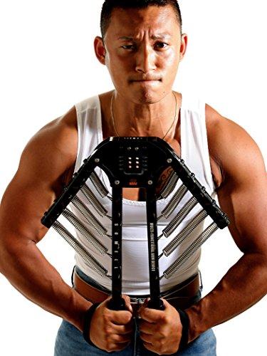 トリプルエス 筋トレ 最強 マッスルモンスター 大胸筋 腕 アームバー 30kg 〜60kg 調整可能 短期間でムキムキ