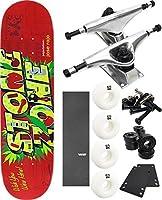 """エンジョイスケートボードWelcome toスケートボード8"""" x 31.7"""" Complete Skateboard–7項目のバンドル"""