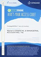 CengageNOW?v2 1 term Printed Access Card for Warren/Reeve/Duchac's Financial & Managerial Accounting 14th [並行輸入品]