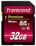 【Amazon.co.jp限定】Transcend SDHCカード 32GB Class10 UHS-I対応(最大転送速度45MB/s) (無期限保証) TS32GSDU1E (FFP)