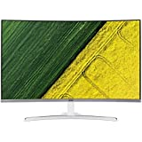 Acer ED322QA 31.5-Inch FHD Curved Free Sync Gaming Monitor,White,UM.JE2SA.A01