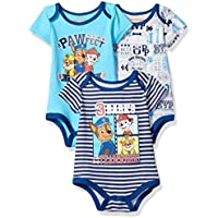 Nickelodeon Baby Boys' Paw Patrol 3 Pack Bodysuit