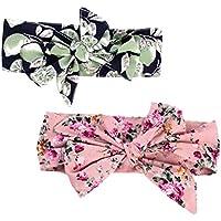 Dovewill 2個セット 女の子 ベビー DIY ヘアアクセサリー へアバンド  髪飾り 柔らかい 飾り物