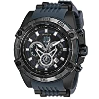 Invicta Men's Marvel Limited Edition 52mm Chronograph Stainless Steel Quartz Watch with Silicone Strap