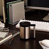 サーモス 水筒 真空断熱オフィスマグ 0.28L ステンレスブラック JCP-280 SBK