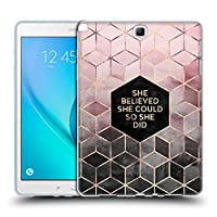 オフィシャルElisabeth Fredriksson Believe 2 タイポグラフィ Samsung Galaxy Tab A 9.7 専用ソフトジェルケース
