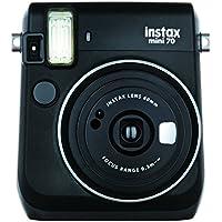 FUJIFILM インスタントカメラ チェキ instax mini 70 ブラック INS MINI 70N BLACK