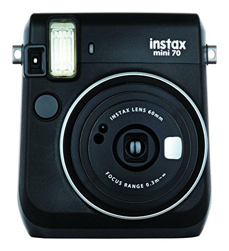 FUJIFILM インスタントカメラ チェキ INS MINI 70N BLACK B07D2HC187 1枚目