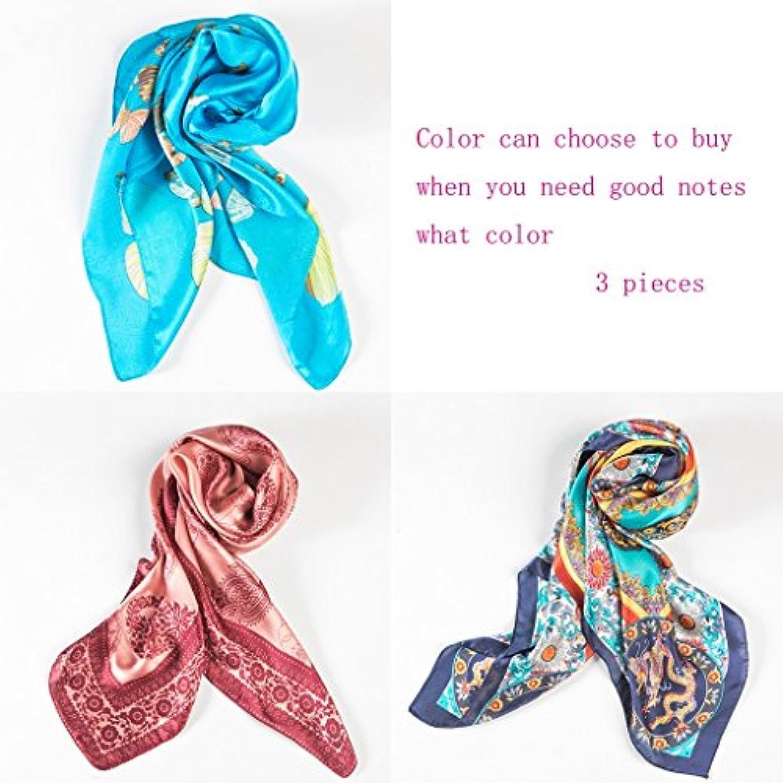 学んだ繁雑プレーヤーGAODUZI ファッションシルクスカーフスカーフスカーフ秋スカーフ夏スカーフ ( 色 : I )