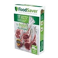 "FoodSaver 11インチ ロールパック 11"" Roll 3 Pack FSFSBF0634-000"