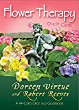 Flower Therapy Oracle Cards: A 44-Card Deck and Guidebook 画像