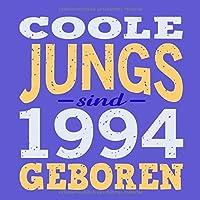 Coole Jungs sind 1994 geboren: Cooles Geschenk zum 25. Geburtstag Geburtstagsparty Gaestebuch Eintragen von Wuenschen und Spruechen lustig / Design: Spruch lustig Vintage Retro